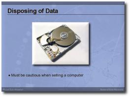 Data Recovery - presentation